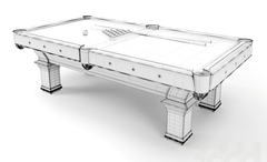 Бильярдный стол на заказ