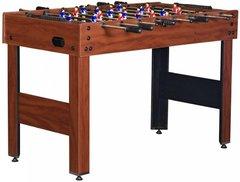 Настольный футбол (кикер) «Standart» (122x61x78.7 см, коричневый)