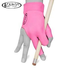 """Перчатка для бильярда """"Kamui Quickdry розовая правая"""""""