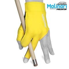 """Перчатка для бильярда """"Molinari желтая"""""""