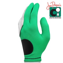 Перчатка Joe Porper`s кожаная вставка светло-зеленая безразмерная