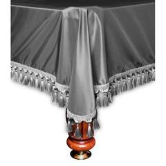 Покрывало Венеция шёлк темное серебро