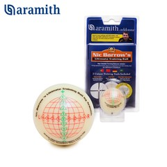 Тренировочный шар Snooker Aramith Nic Barrow`s Ultimate Training Ball Ø52,4мм